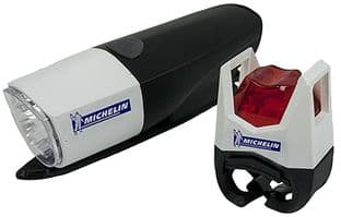 LED Front & Rear Bicycle Light Set - MICHELIN 800426